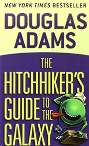 Douglas Adams the hitchhikers guide to the galaxy