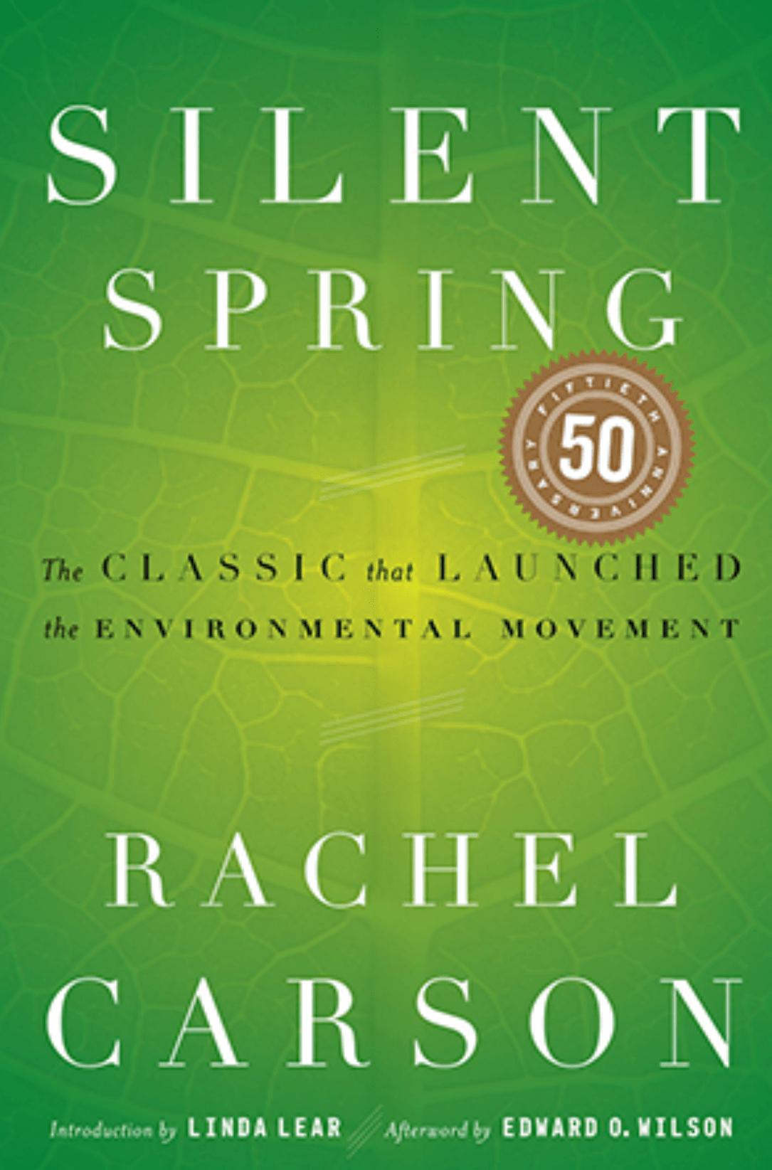 Silent spring Rachel carson