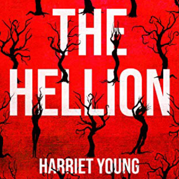 Cover artwork for the Hellion, by Harriet Young