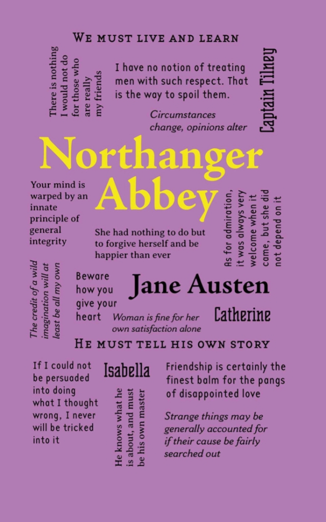Northanger Abbey Canterbury Classics Word Cloud Classics